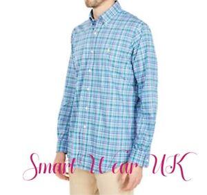 Ralph Lauren Men's Classic Fit Stretch Cotton Shirt (Plaid) RRP $199