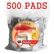 500 Kaffeepads Caféclub Megabeutel Regular 5 x 100 Pads EINZELN AROMA -VERPACKT!
