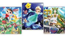 Club Nintendo Super Smash Bros. Three Poster Set 22x28 BRAND NEW 3 Smash 4 Wii U
