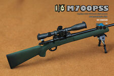 COOMODEL X80028 Remington M700PSS Sniper Rifle Green Collectible 1/6 Figure Toy