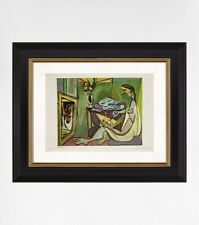 Pablo Picasso 1954 Original Print, Hand Signed with Certificate of Authenticity
