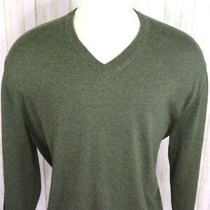 New Daniel Cremieux Green Supima Sweater Mens Size XXL 2XL Cotton Nwt Great Gift