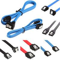 "SATA 3.0 III SATA3 SATAiii 6Gb/s Data Cable Wire 20"" 50cm for HDD Hard Drive SSD"