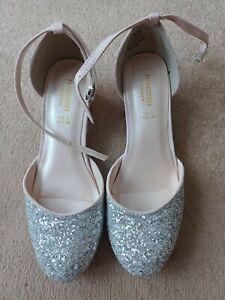 Monsoon Girls Gold Shoes Uk Size 3
