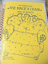 """Mage'S Secret Chair~Elise Peeples~12"""" for cloth & other Dolls~pattern Rare & Oop"""