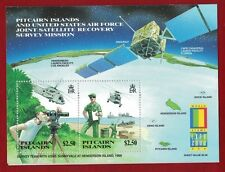 2000 Pitcairn Islands, Expo US Joint Satellite Recovery Mission, SG MS 581, MUH