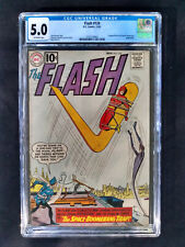 Flash #124  CGC 5.0  DC Comics 11/61
