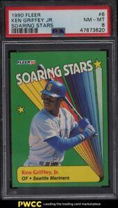 1990 Fleer Soaring Stars Ken Griffey Jr. #6 PSA 8 NM-MT