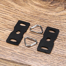 1 Pair Camera Shoulder Strap Quick Release Adapter Connecting Buckle Strap Grips