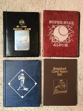 Cards Collectors Album 3 with 10 FIXED Pages 4 Pocket page LOT 4 ATLANTA BRAVES