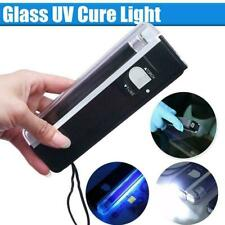 UV Cure Lamp Ultraviolet LED Light Car Auto Glass Windshield Repair Kit E5V7