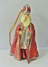 "Vintage Limited Edition Duncan Royale Christmas Ornament - ""St. Nicholas"""