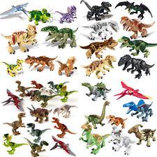 "Indominus Rex XXL Large Full Size Dinosaur 7x11"" Figure Building Blocks Toy Gift"