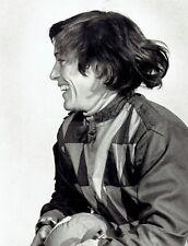 1981 Original Photo female jockey Amy Rankin celebrates horse racing win