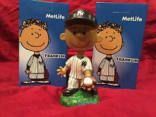New York Yankees Franklin Peanuts Metlife Bobblehead Doll SGA 2016 5th In Series