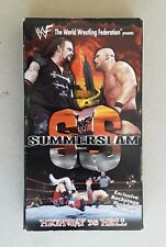 WWF / WWE SUMMERSLAM 1998 vhs COLISEUM VIDEO wrestling