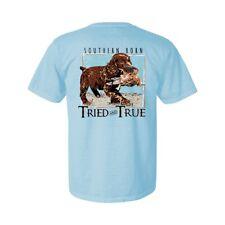 Boykin Spaniel Puppy w Bird Short Sleeve T-Shirt By Tried & True