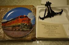 BNSF Railway 'Power for the Long Haul' 2007 locomotive plate Safety Award FRE SH