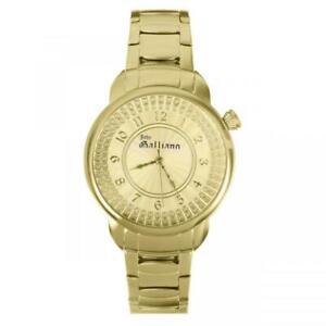 Orologio Donna JOHN GALLIANO STELLAR R2553126502 Acciaio Gold Swarovski NEW