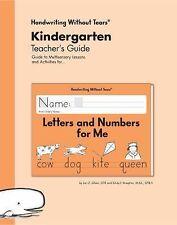 Handwriting Without Tears Kindergarten Teacher's Guide