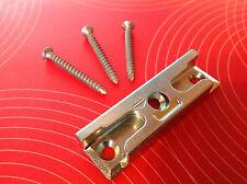 MACO 96561 Sicherheits-Schließblech Pilzkopf inkl. 3 Schrauben Schließstück