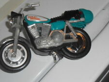 Vtg. Teal Green Harley Davidson Toy Motorcycle