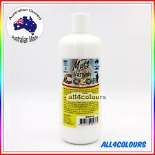 500ml Oz Made Mr. Color Matt Varnish from Radical Paint Non Toxic