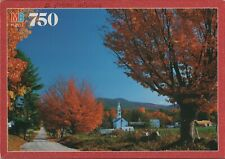 "Autumn in Tamworth New Hampshire 750 Piece Oxford Puzzle 17¼"" x 23"""