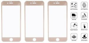 4x Full Coverage Premium Tempered Glass Screen Protector  For iphone 6 7 8 Plus