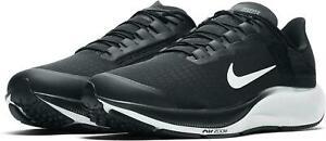 Nike Air Zoom Pegasus 37 Flyease 4E WIDE Running Shoe Black CK8446-003 Men's NEW