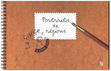 """CARNET PORTRAITS DE REGIONS """"LA FRANCE A VIVRE 2003"""" N° 3559 À 3568 NEUF** LUXE"""