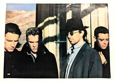U2 Band / Bryan Adams Live / Magazine Full Page Pinup Poster Clipping
