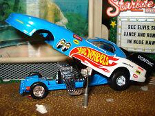 BLOWN PONTIAC 1990'S FIREBIRD LIMITED EDITION MUSCLE CAR 1/64 NITROUS FUNNY CAR