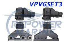 Collettore di Scarico, Alzata & 7.6cm Estensione Set per Volvo Penta 4.3L V6