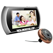 "4.3"" HD Visual Monitor Door Peephole Peep Hole PIR Wireless Viewer Cameras Video"