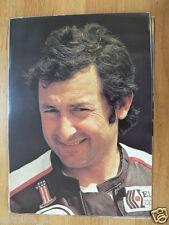 WALTER VILLA POSTER CC 1978 ROADRACE,PILOTE CONTINENTAL CIRCUS MOTO GP