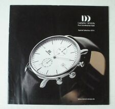 Danish Design Pure Scandinavia Style Special Selection 2014 Prospekt Uhr B11242