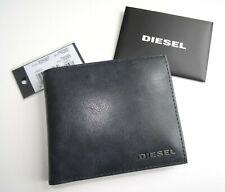 Diesel Azul Oscuro Cuero Billetera Cartera Moneda Bolsillo Notas Tarjetas Monedas D12