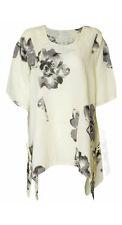 Linen Casual Size Regular Tops & Blouses for Women