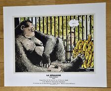 TARDI: LA DÉBAUCHE - AFFICHE d'ART OFFSET - 2000 - Comme Neuf -