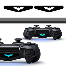 2x Bat Super Hero PS4 Playstation Pair Dualshock Lightbar decal Sticker