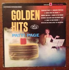 Patti Page Golden Hits Vinyl LP