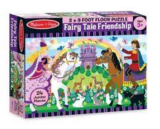 Melissa & Doug Fairy Tale Friendship Floor Puzzle 24pc