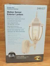 Hampton Bay (248617) Coach Style Cast Aluminum w/ Motion Sensor Exterior Lantern