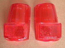 NEW NORS  MG MGB MIDGET SPRITE PAIR OF LOWER TAIL LIGHT LENSES. GLO BRITE 5840