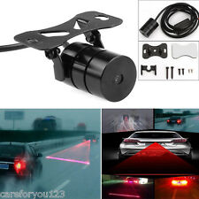 Car Fog Light LED Laser Red Rear Anti-Collision Taillight Warning Signal Lamp