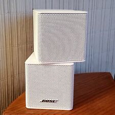 Bose Jewel Double Cube Premium Speakers Mint-Pristine Condition.