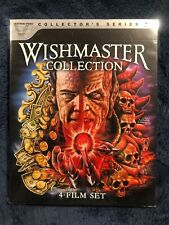 WISHMASTER COLLECTION 4 FILMs With Slipcover(Vestron Video Collectors Series #9)