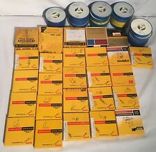 Lot Of (49) Vintage 1950s-1990s Kodak Kodachrome 8mm Film Reels Family Vacations