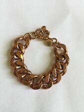 Marc Jacobs Heavy Chain Bracelet - Copper Tone
